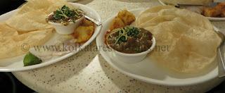 luchi choalr dal bengali cuisine at Kolkata restaurants in Rabindra Sadan