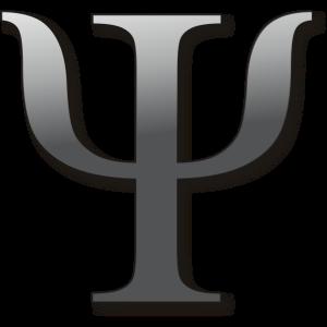 Psi, letra griega asociada con la psicología