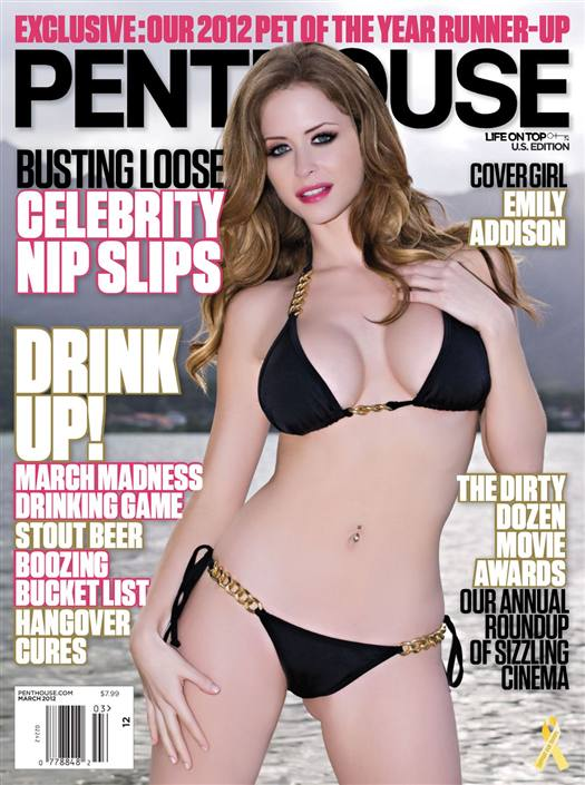 Penthouse Magazine March 2012 - USA