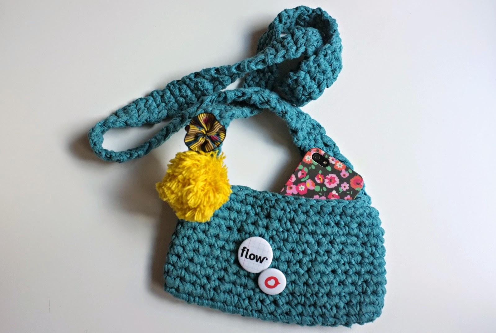 julie adore diy pochette au crochet. Black Bedroom Furniture Sets. Home Design Ideas