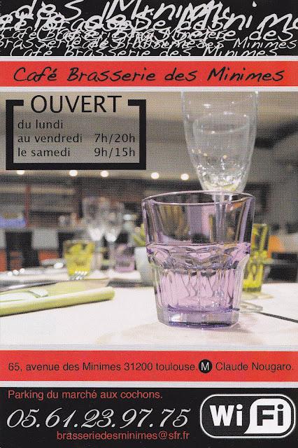 Café Brasserie des Minimes 31200 Toulouse