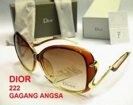 Kacamata Dior Angsa Coklat