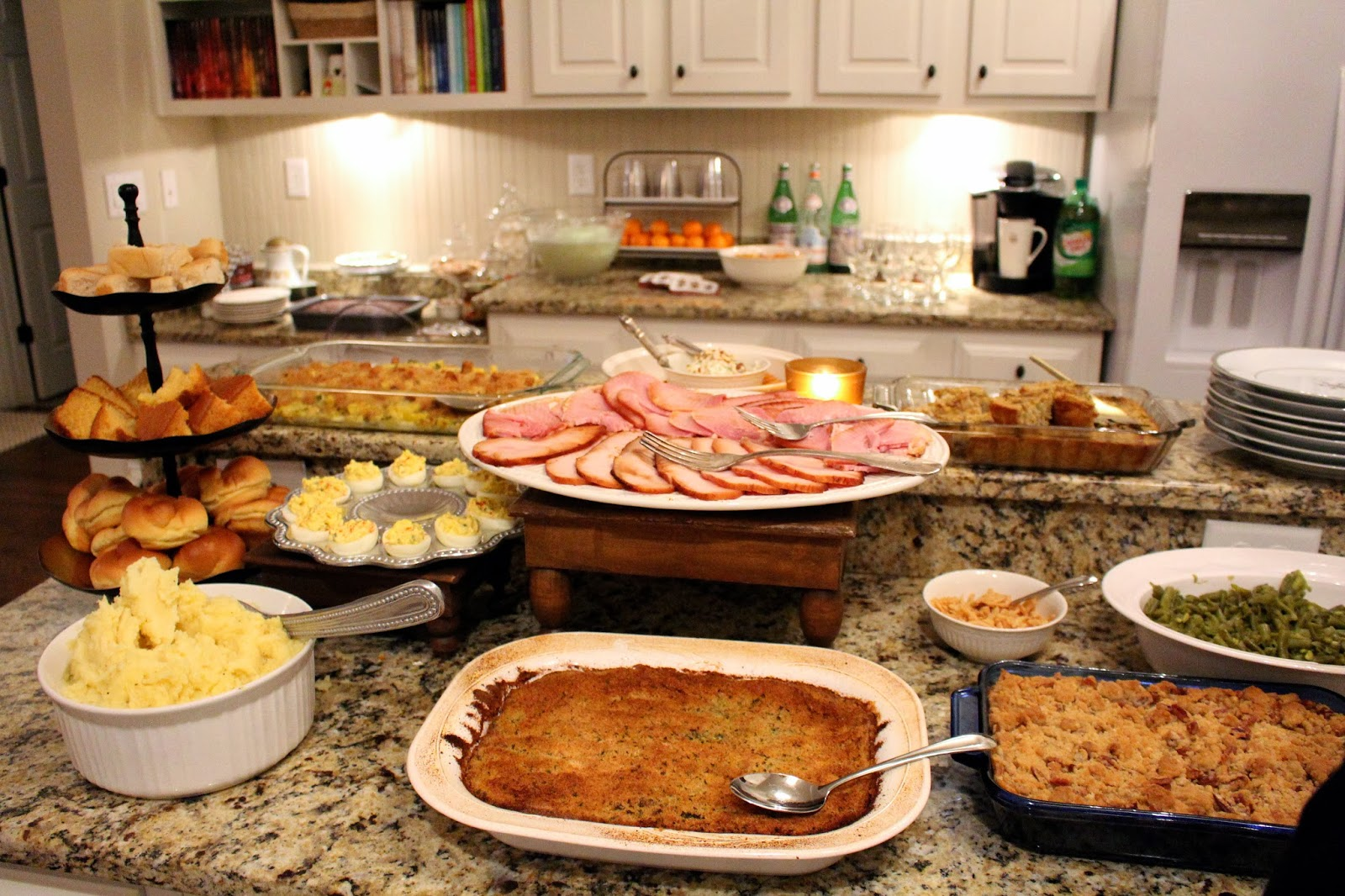 TiffanyD: Our Christmas Dinner... With Recipes