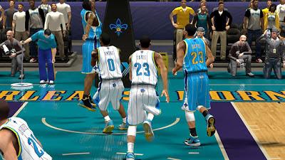 NBA 2K13 New Orleans Hornets Jersey Mods