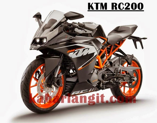 Harga Motor KTM RC390 dan RC200