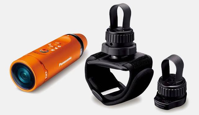 Panasonic HX A1 Water, Shock & Dust Proof Wearable Camera