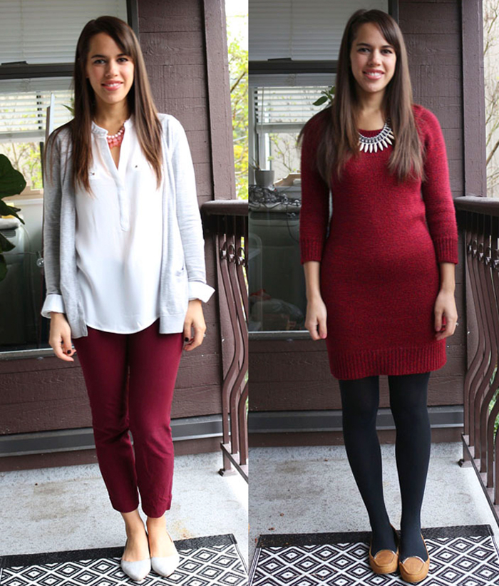 jules in flats: personal style blog - business casual workwear on a budget November 2015