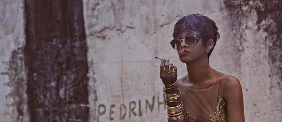 on vogue Rihanna cover brazil of