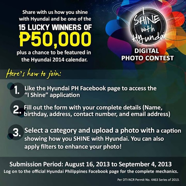 I Shine, Hyundai Photo Contest