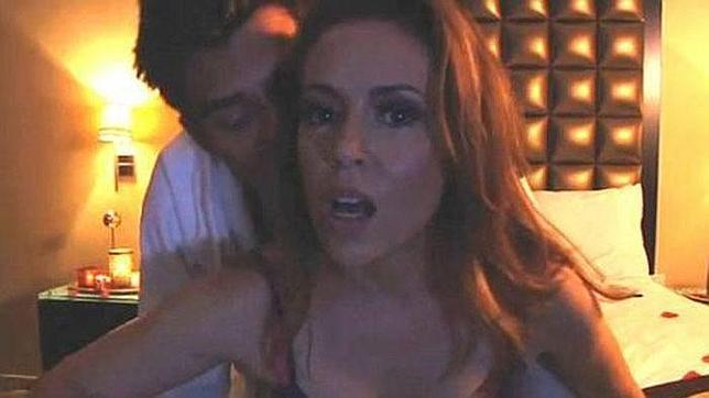 Triunfa en internet el vídeo «porno» de Alyssa