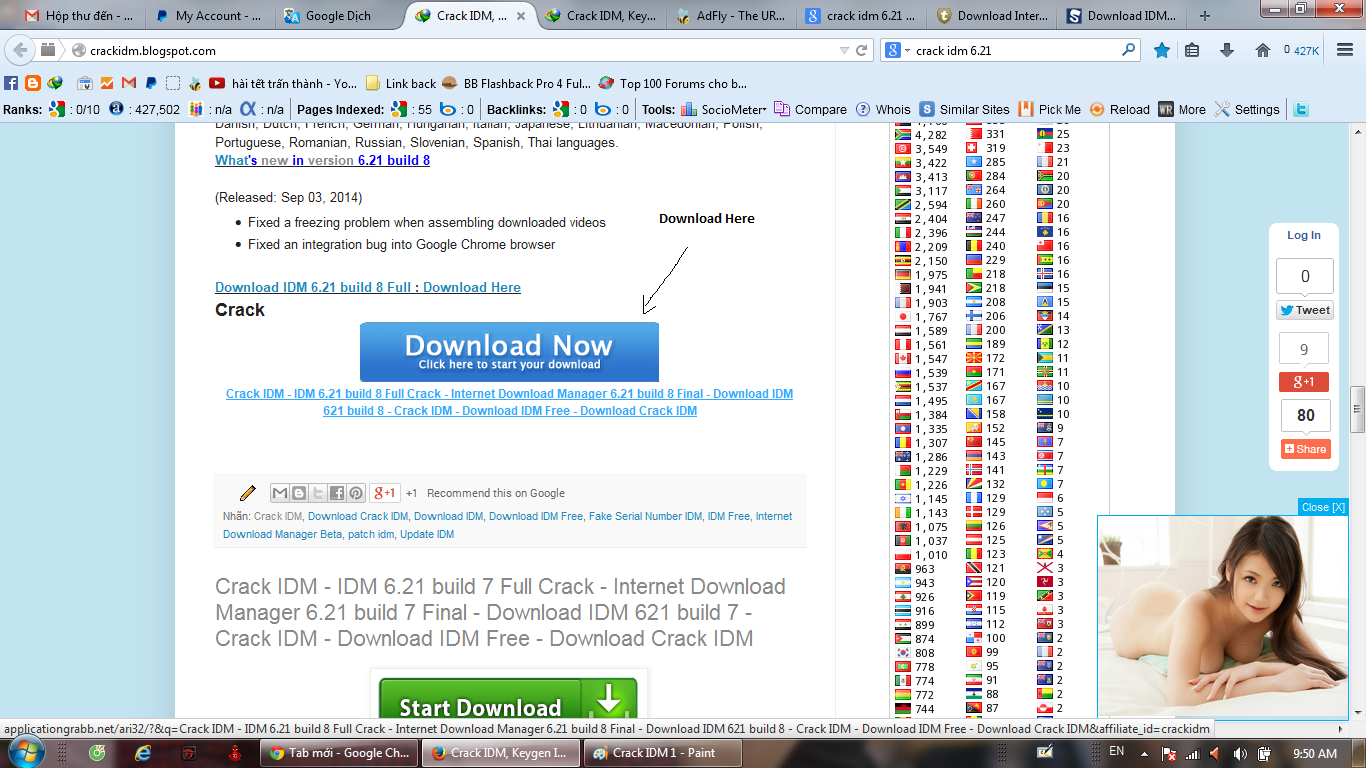 Download IDM and Crack new version On Crackidm.blogspot.com.
