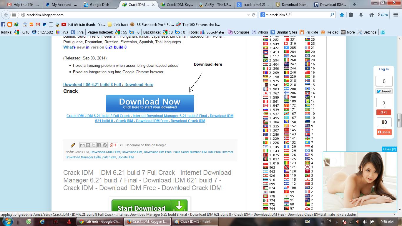 Download IDM and Crack new version On Crackidm.blogspot.com.