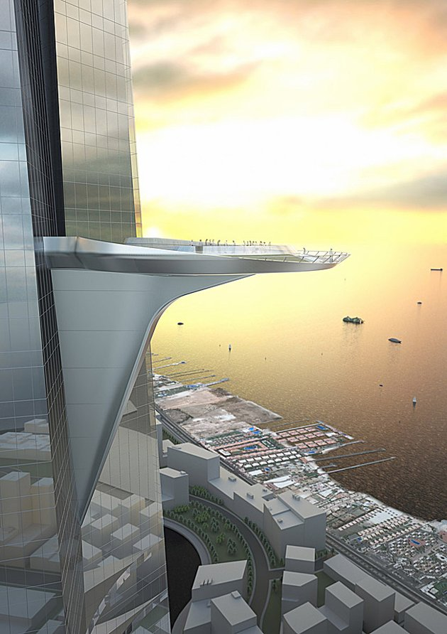 Photo of Kingdom Tower outdoor observation deck platform
