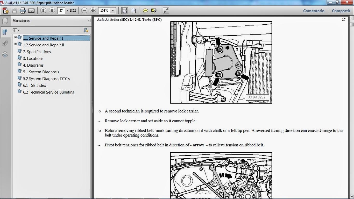 manuales de taller de audi rh manuales audi blogspot com Audi A5 manual de taller audi a4 avant b6