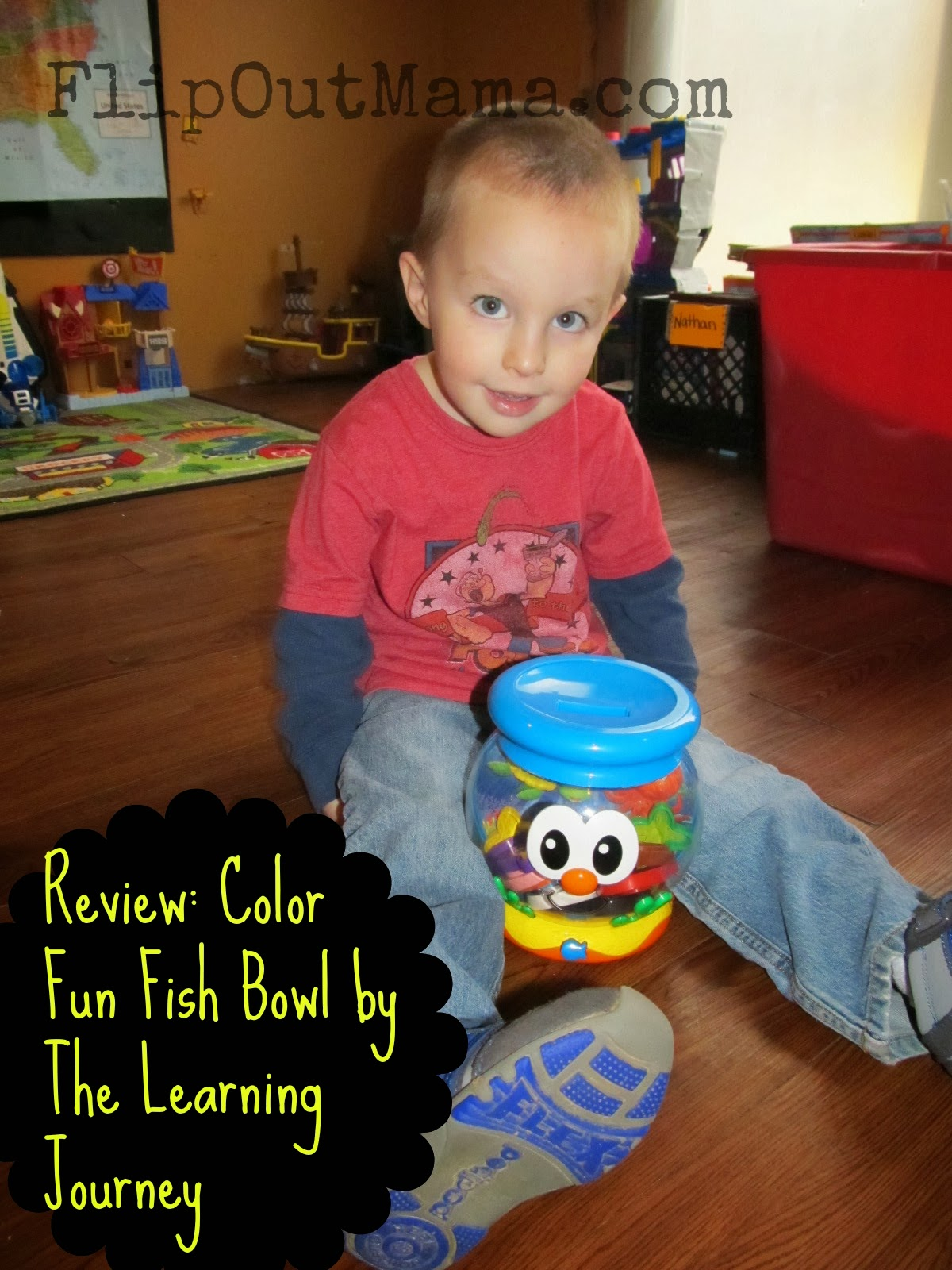Flip Out Mama: Review: Learn With Me Color Fun Fish Bowl from The ...