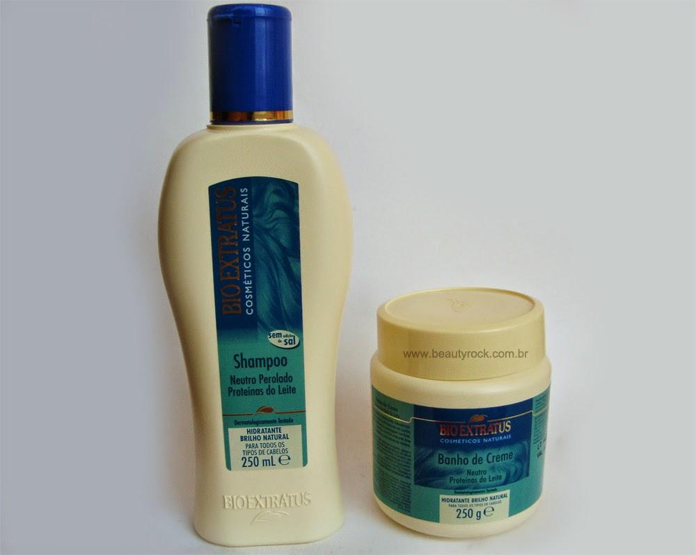 Resenha: Shampoo e Máscara Proteínas do Leite da Bio Extratus