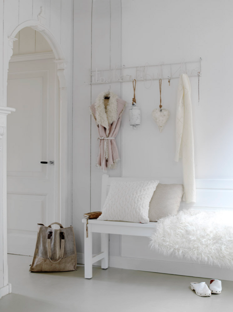 total white decor