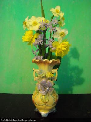 Vaza cu flori de Florii
