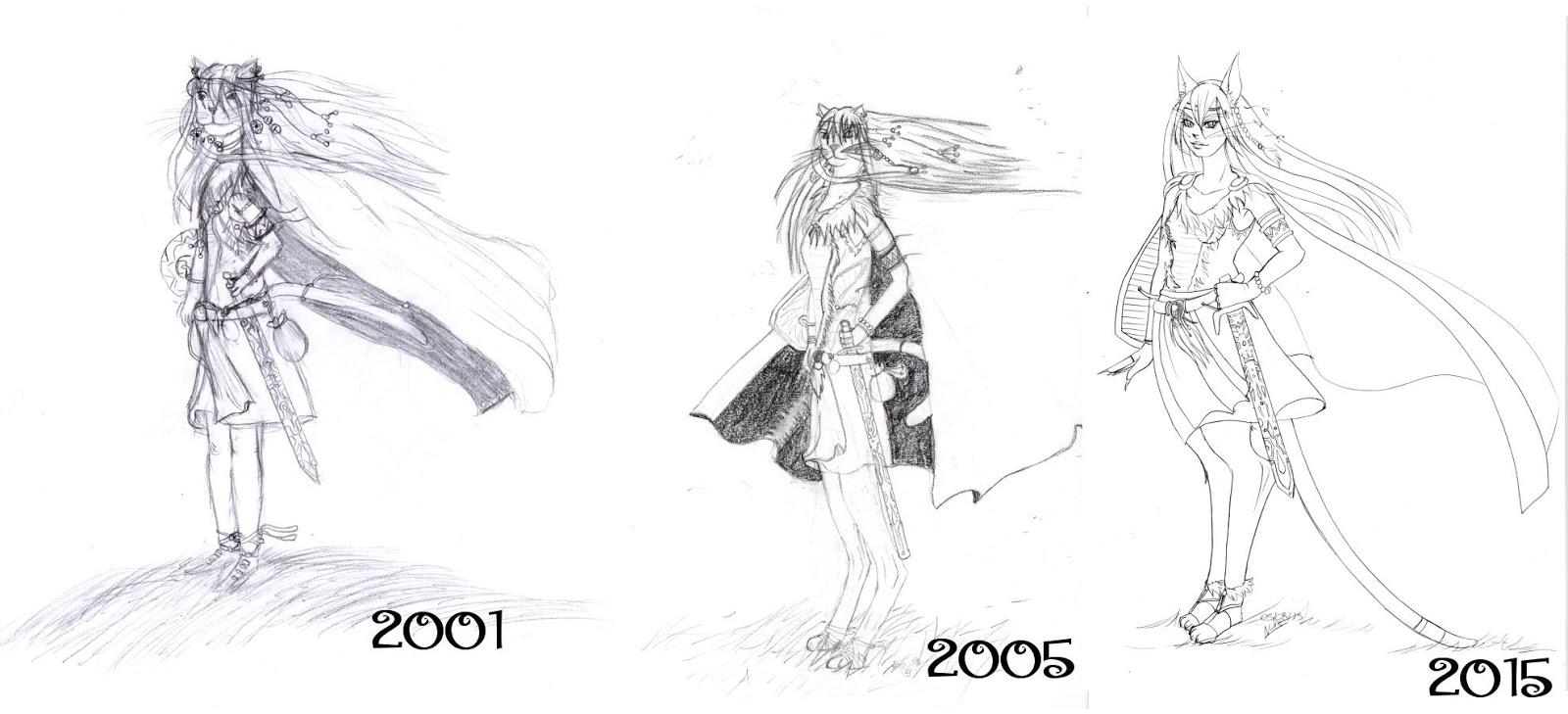Ancien VS nouveaux dessins - Page 5 Evolution_femmechat
