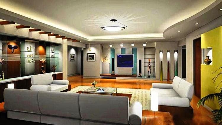 Interior da maior casa do mundo