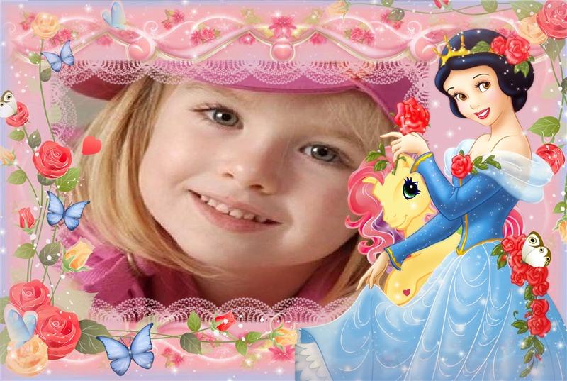 Fotomontajes con princesas Disney gratis - Imagui