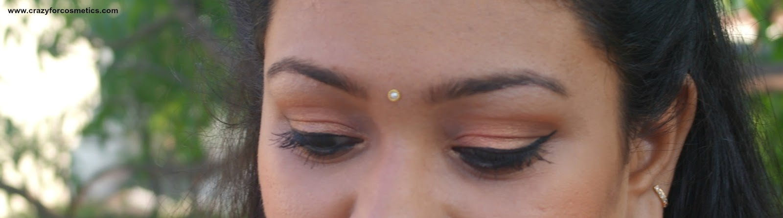 evening party indian eyemakeup