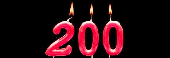 200 objav