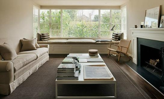 Modern Window Seat Inspiration | REDOVERCOAT.