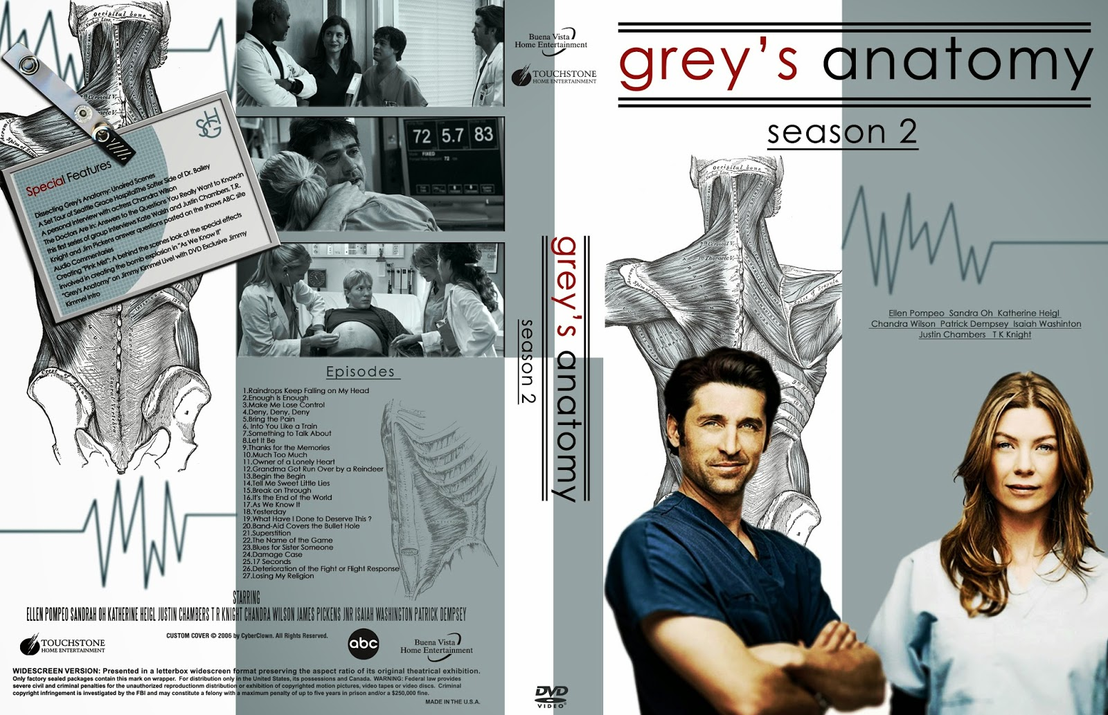 Watch Grey,s Anatomy Online Season 2 - Episode Thanks for the ...
