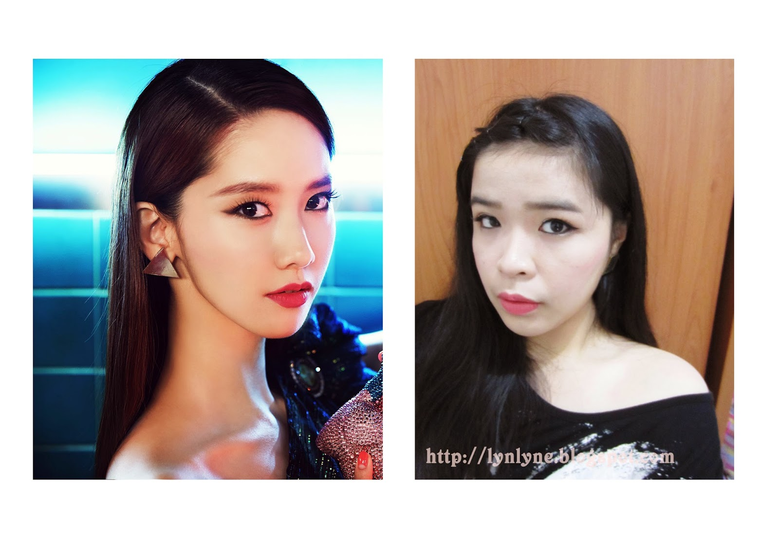Makeup collaboration inspired from girls generation mr blushnya aku menggunakan etude house lovely cookie blusher 6 grapefruit jelly baditri Image collections
