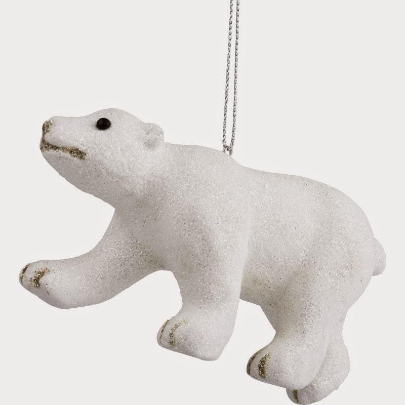 isbjörn, julgran, åhléns, gran, hänge, julpynt, inspiration