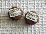 Cupcake de música