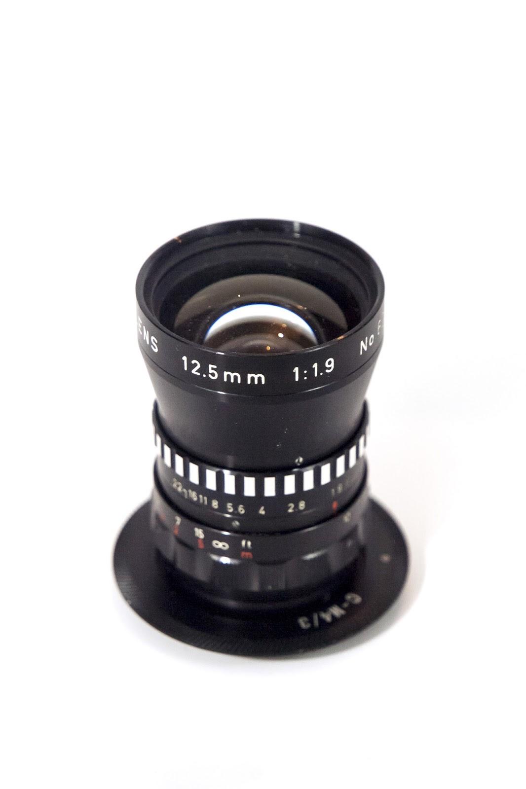 Cosmicar 12.5/1.9 (12.5 mm f1.9)