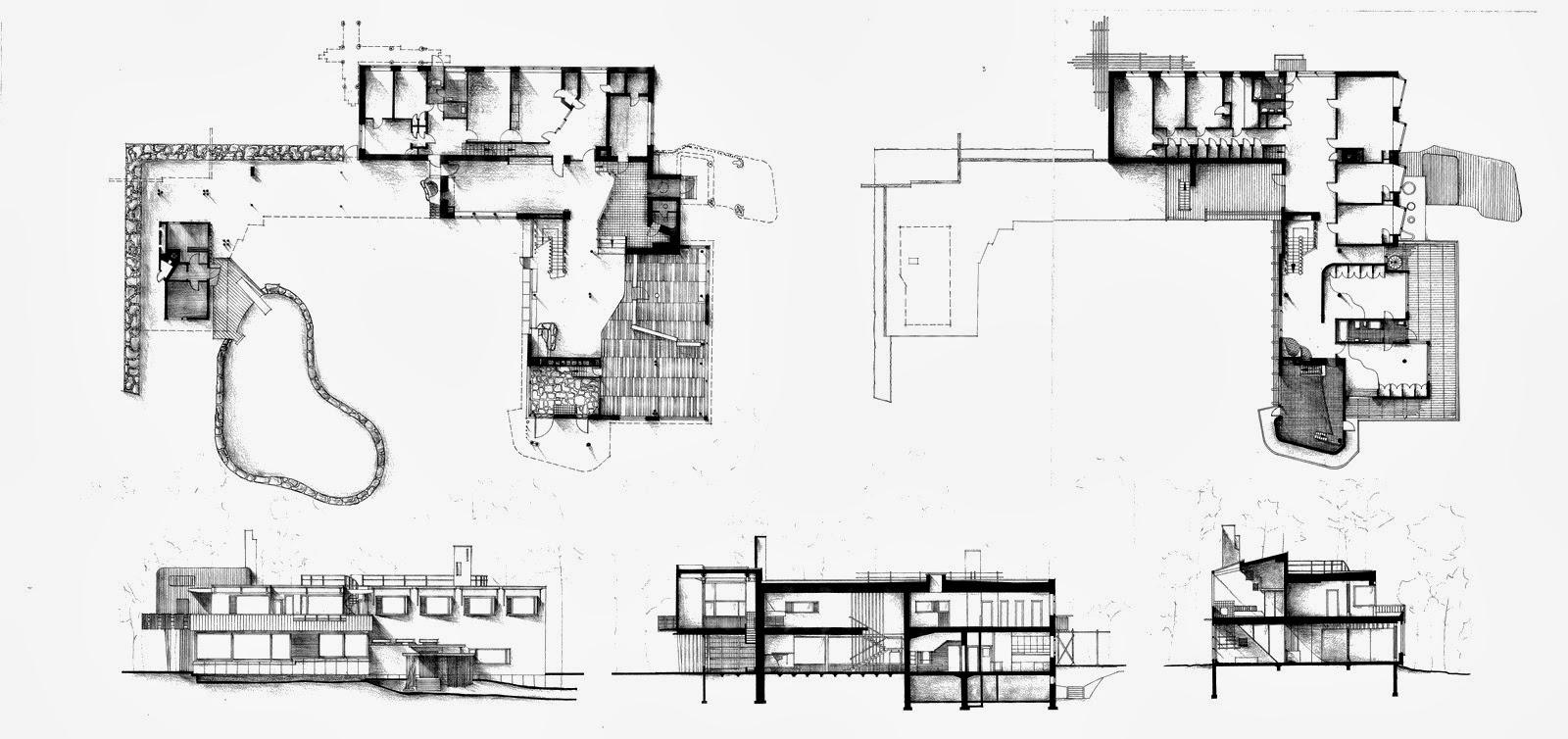 Storia dell 39 architettura moderna alvar aalto - Sala da pranzo dwg ...