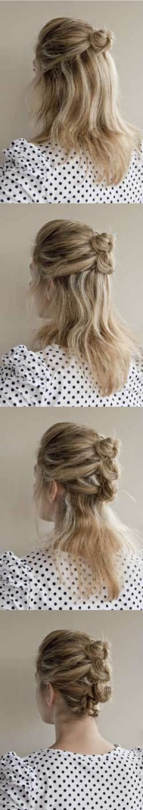 Ways To Pin Up Your Hair. Twist the section around your