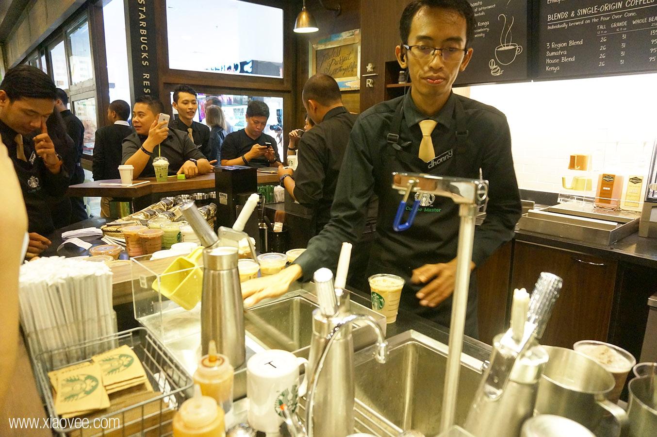 Starbucks Reserve in Surabaya, Starbucks Reserve Galaxy Mall, Starbucks Reserve GM