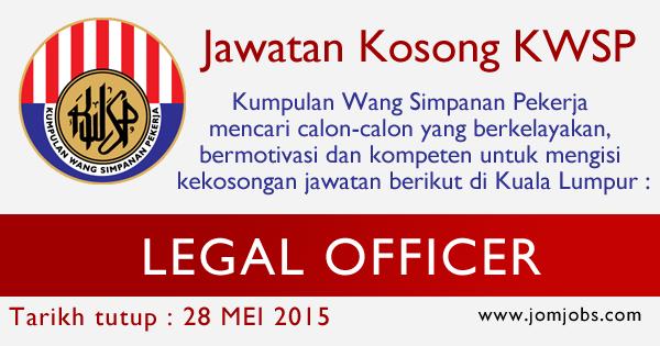 Jawatan Kosong KWSP Terkini Mei 2015