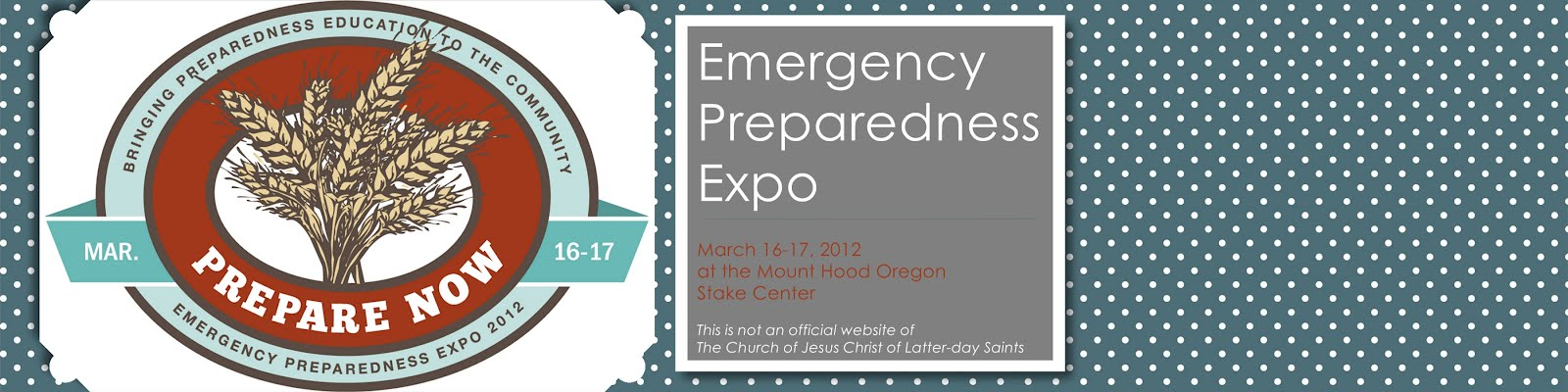 EMERGENCY PREPAREDNESS EXPO 2012