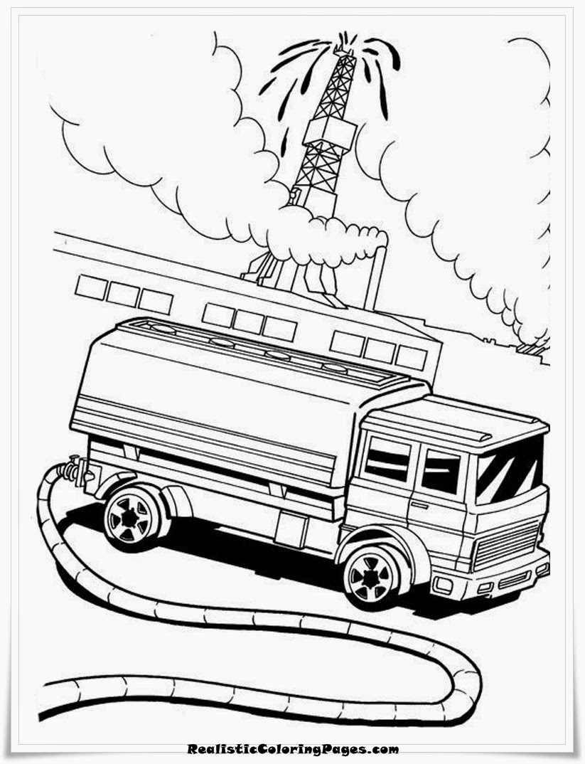 Hot Wheels Coloring Sheet Printable