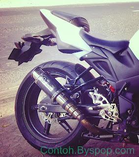 Modifikasi Yamaha Byson Bergaya Susuki GSR