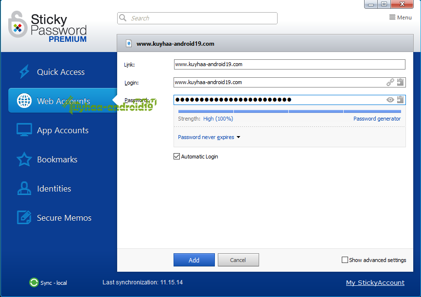 Sticky Password Premium