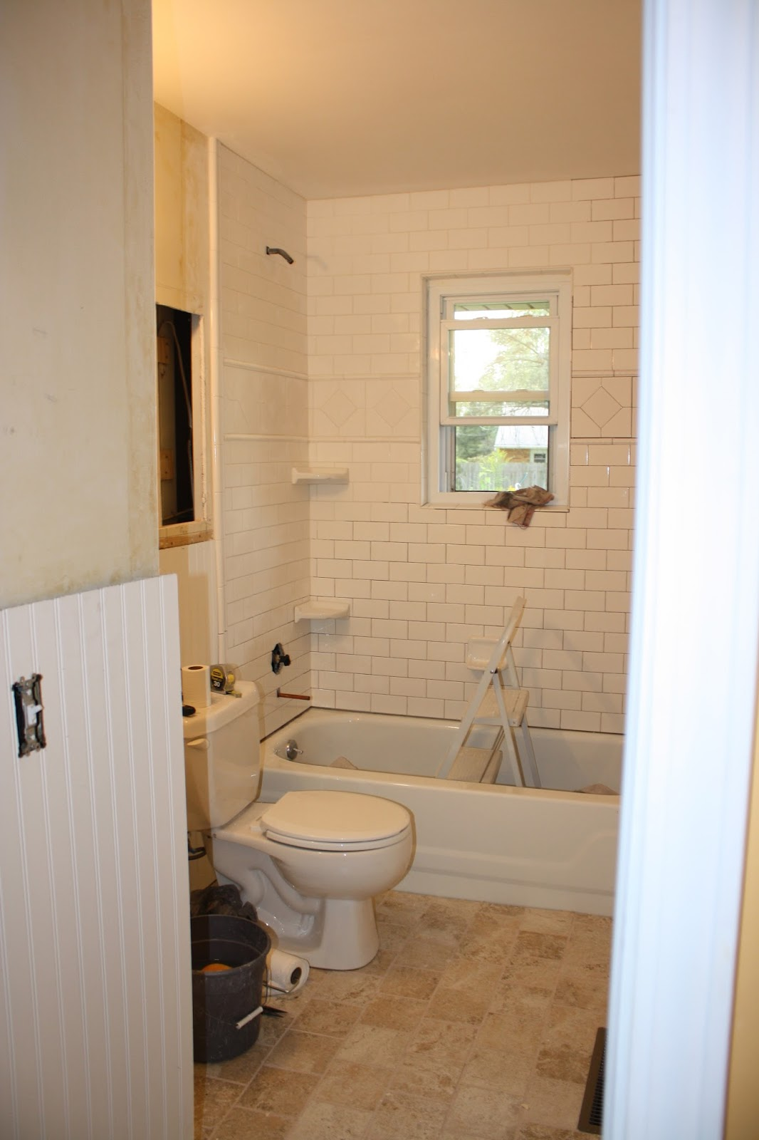 because home should be great grout trim caulk and spackle the end is in sight. Black Bedroom Furniture Sets. Home Design Ideas