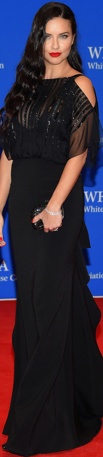 ADRIANA LIMA WHITE HOUSE CORRESPONDENTS' DINNER