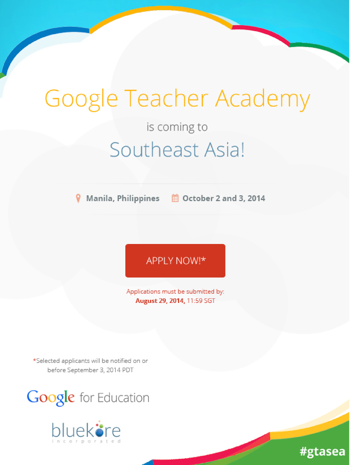 Google Teacher Academy SEA