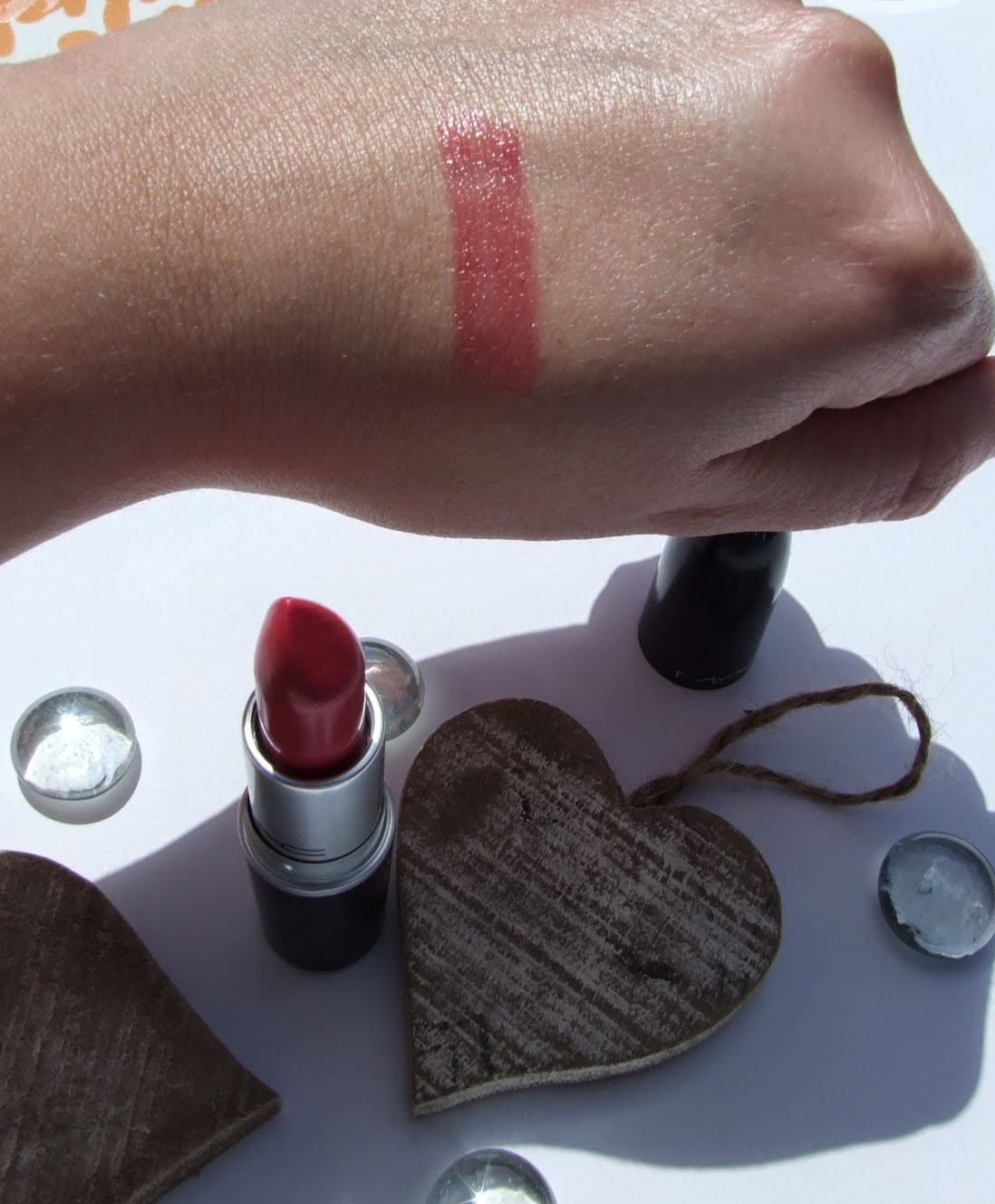 MAC Lustering lustre lipstick review swatch
