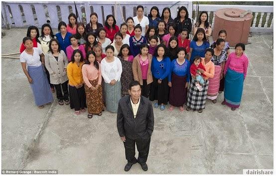 Kisah Lelaki Yang mempunyai 39 Orang Isteri