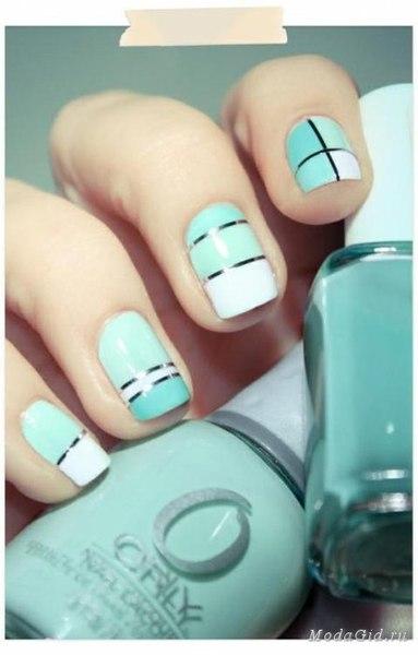 Nuevos Diseños de uñas con puntitos