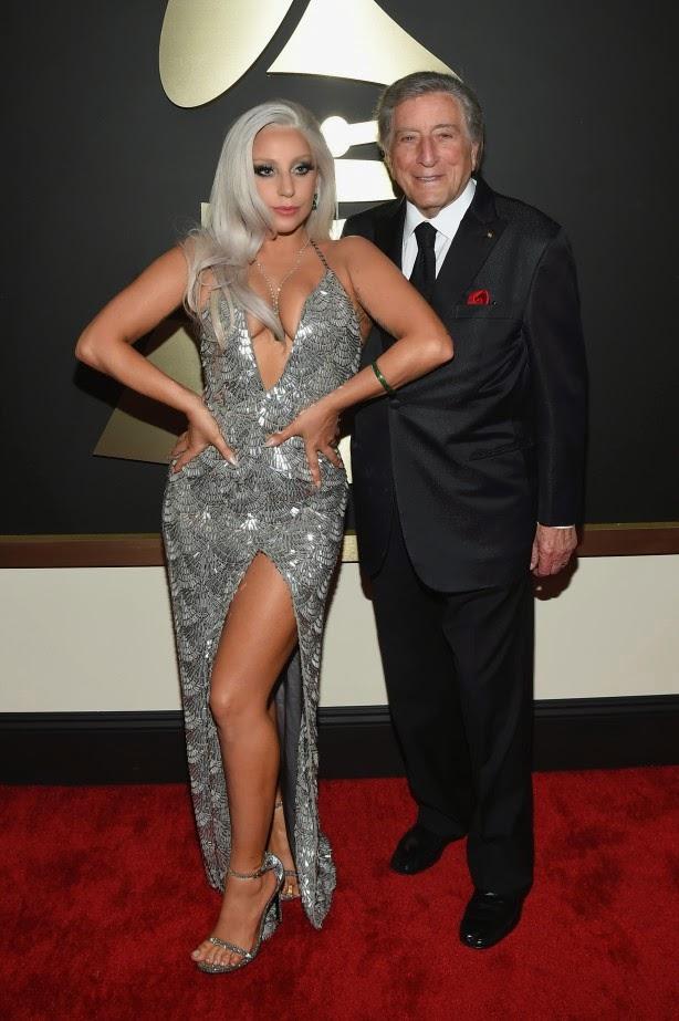 Lady Gaga e Tony Bennett Grammy 2015
