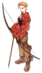 final fantasy tactics archer male