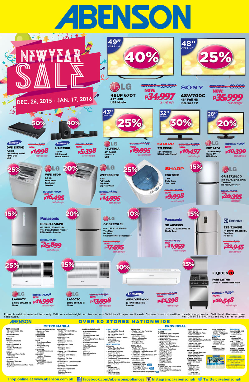 PLANNING TO BUY GADGETS, GROCERIES, OR APPLIANCES IN THE PHILIPPINES ...